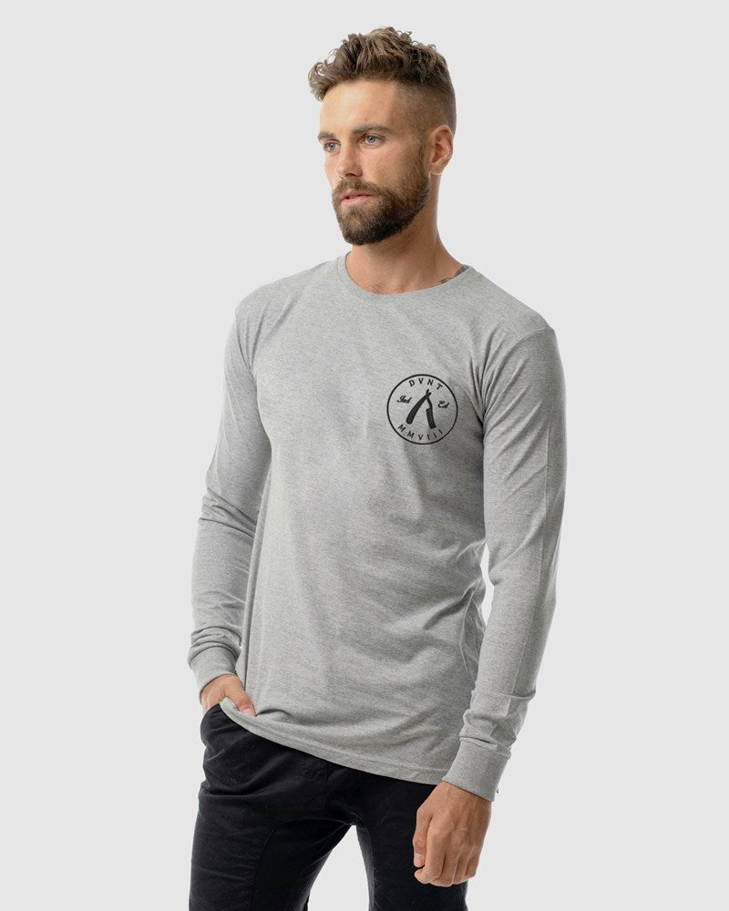 Cut Throat Crest Long Sleeve Tee