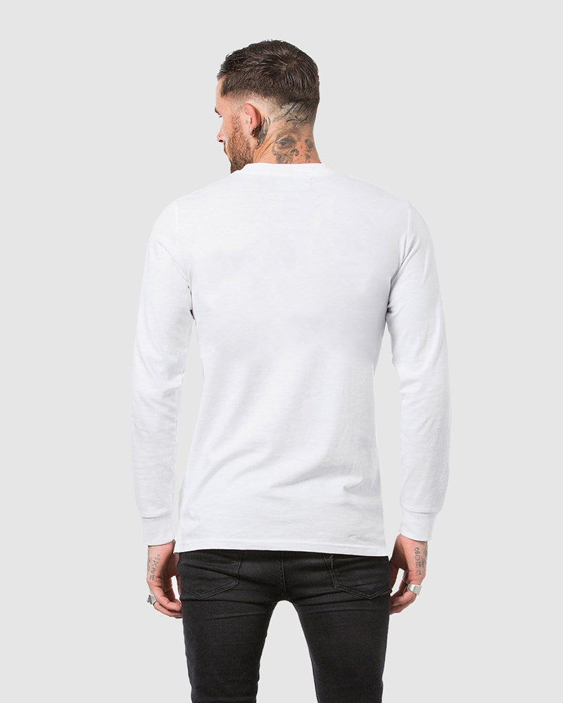 Drop Out Long Sleeve Tee