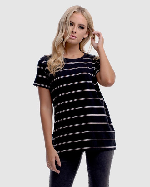 stripe-black-t-shirt