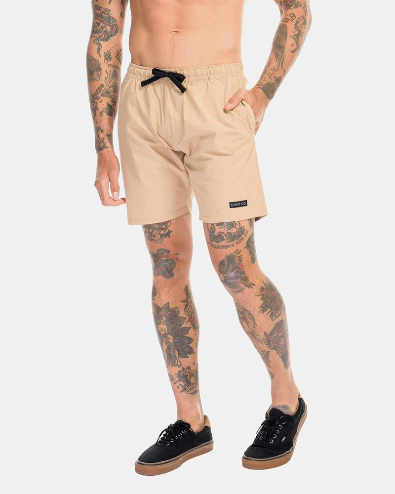 SUPPLY BOARDWALK SHORTS - CAMEL