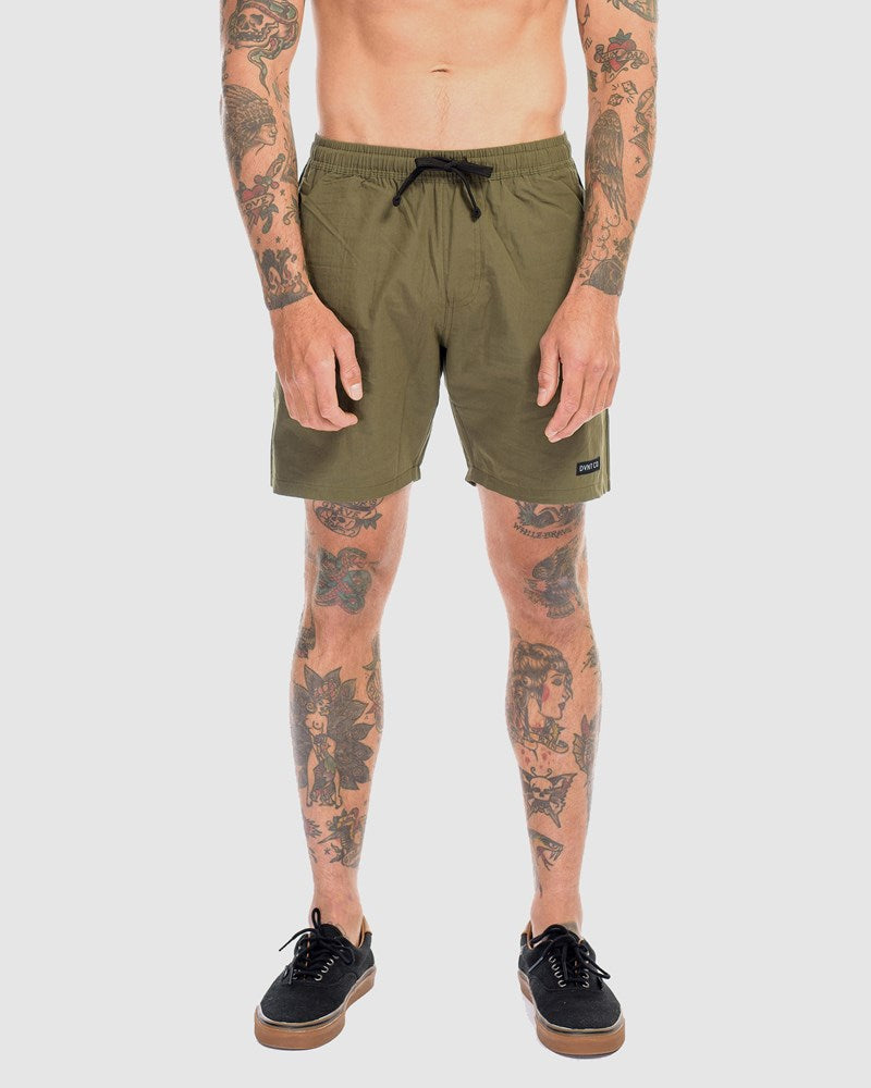 Supply Boardwalk Shorts - Olive