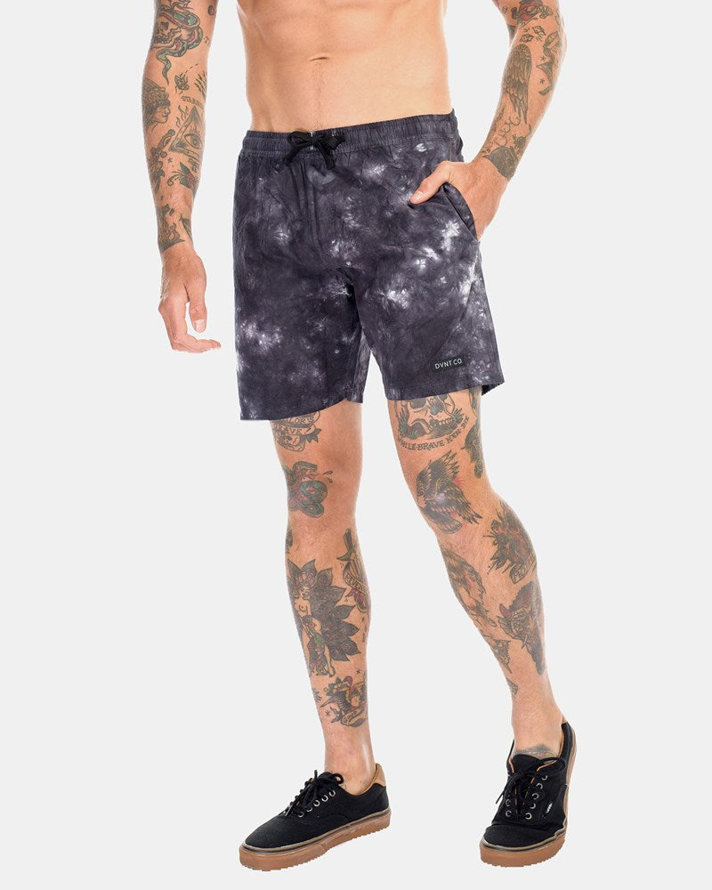 SUPPLY BOARDWALK SHORTS - STORM BLACK