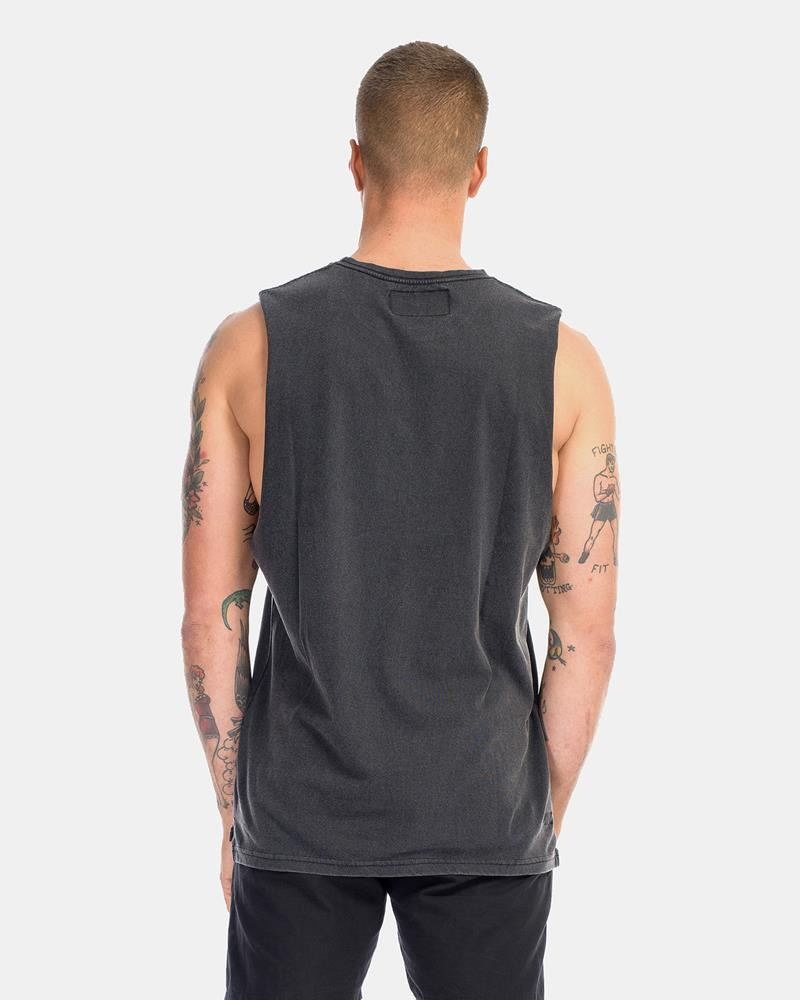 SUPERIOR DEVOID TANK - ACID BLACK