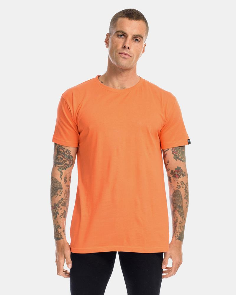 DEVOID PREMIUM TEE - ORANGE