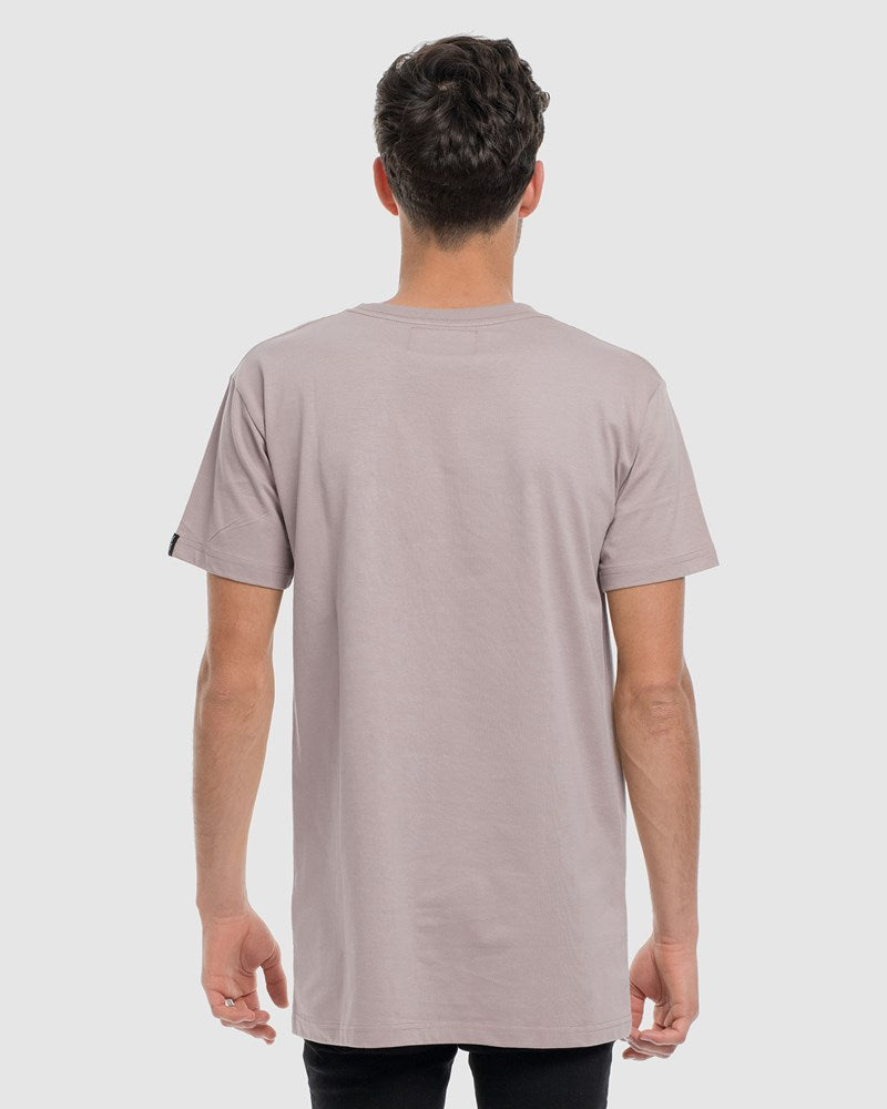 Classic Embroidery  Tee - 4 Pack (Black, White, Stone, Marle Grey)