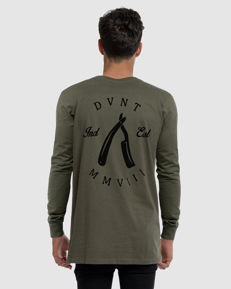 Rough Cuts Long Sleeve Tee