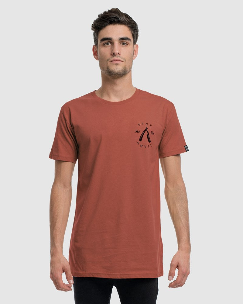 3-Pack Rough Cuts Tee - Black, Rust & White