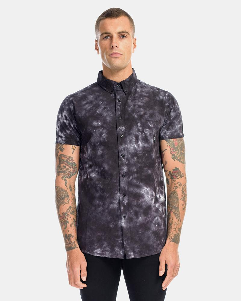 BLACK STORM DRESS SHIRT - STORM BLACK