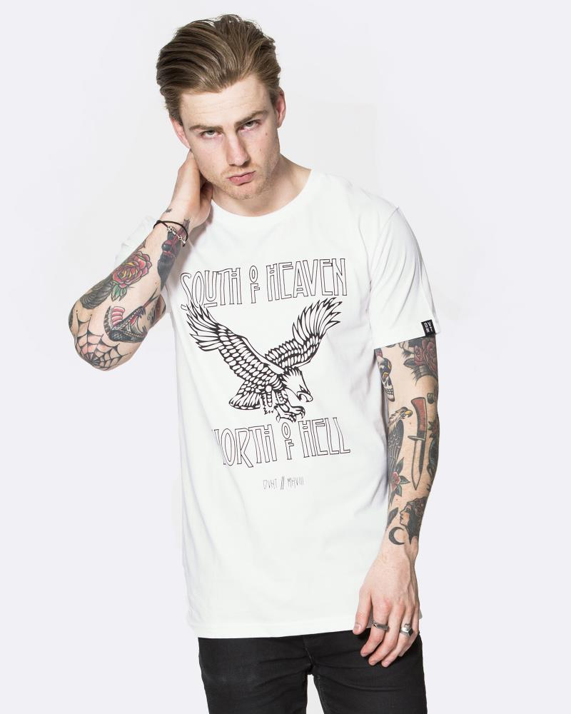 MENS MORTAL TEE - WHITE