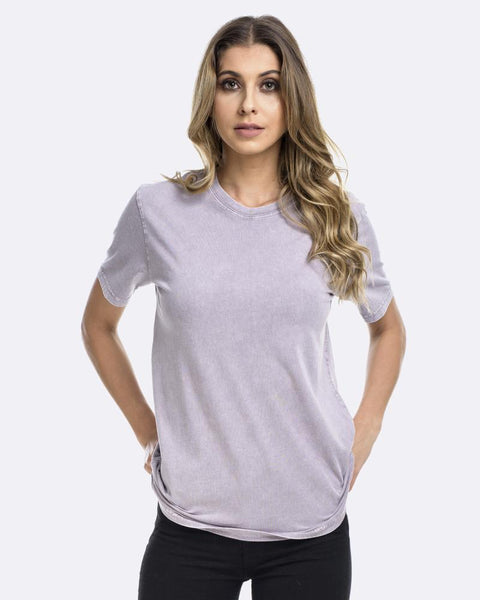 Womens Devoid Standard Tee - Acid Putty