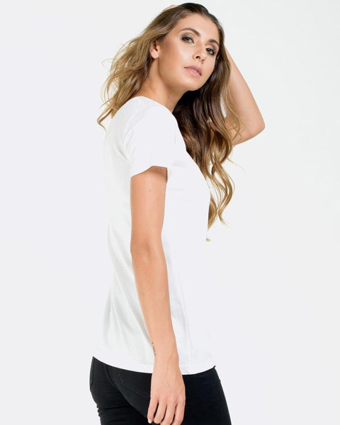 WOMENS DEVOID STANDARD TEE - WHITE