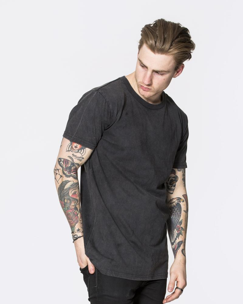 DEVOID PREMIUM TEE - ACID DISTRESSED
