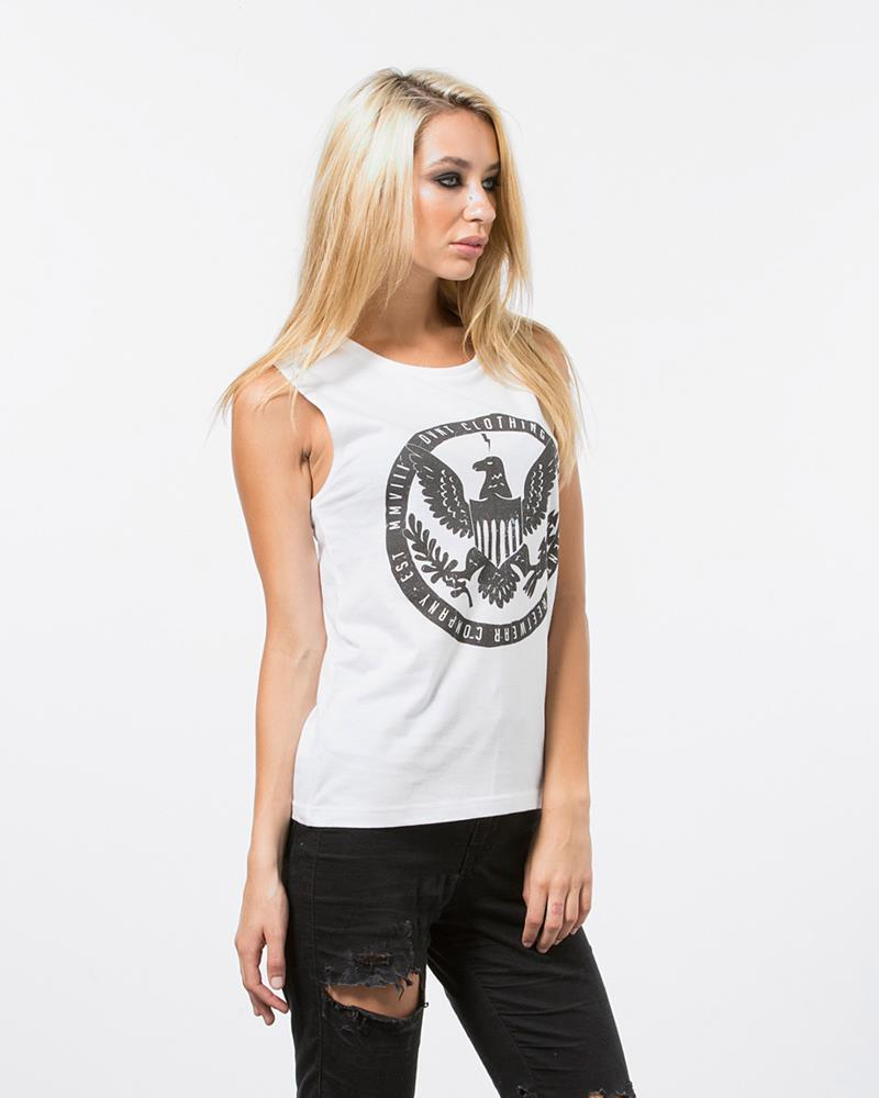 INDEPENDENCE TANK - WHITE