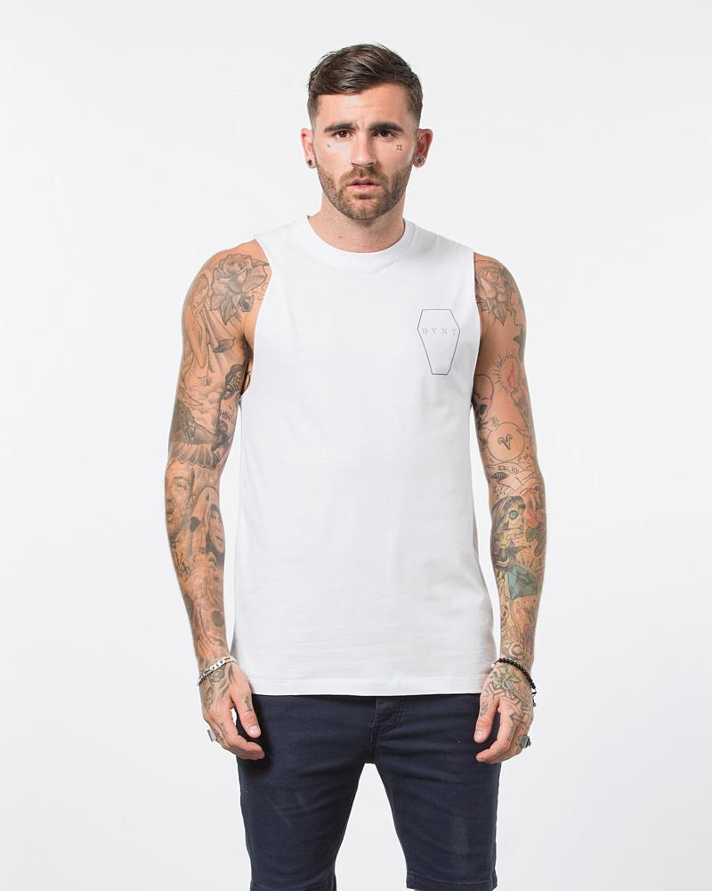 COFFIN TANK - WHITE