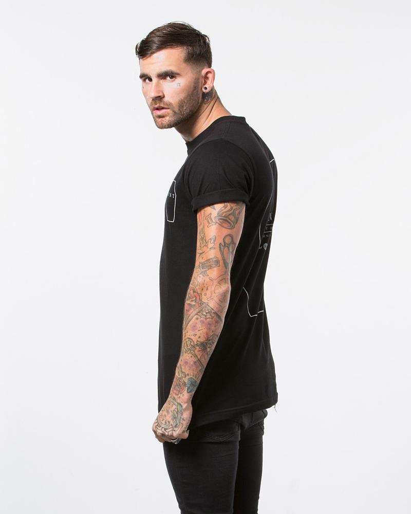 Coffin Tee - Black