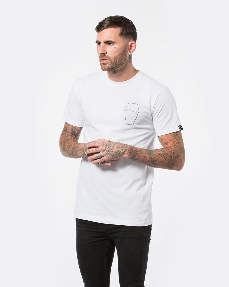 COFFIN TEE - WHITE