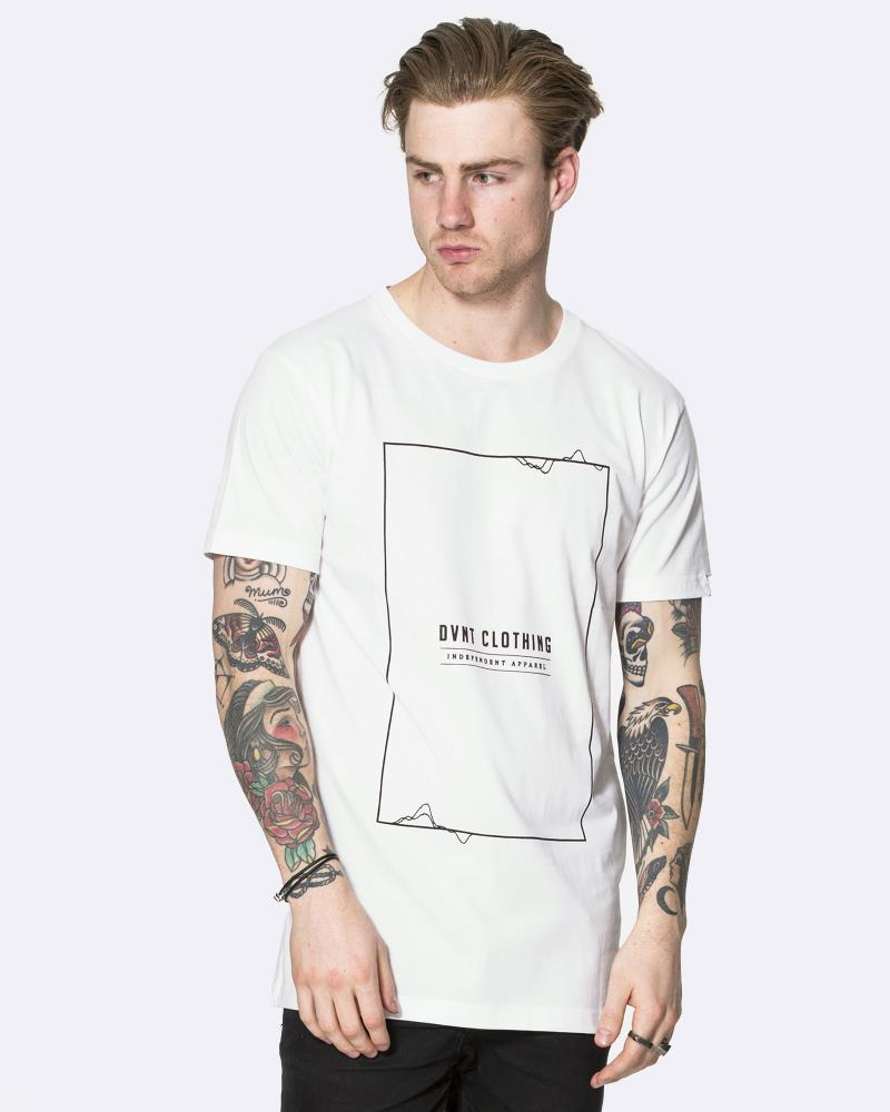 FREQUENCY FRAME TEE - WHITE