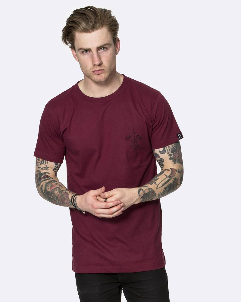 TOWER TEE - OXBLOOD