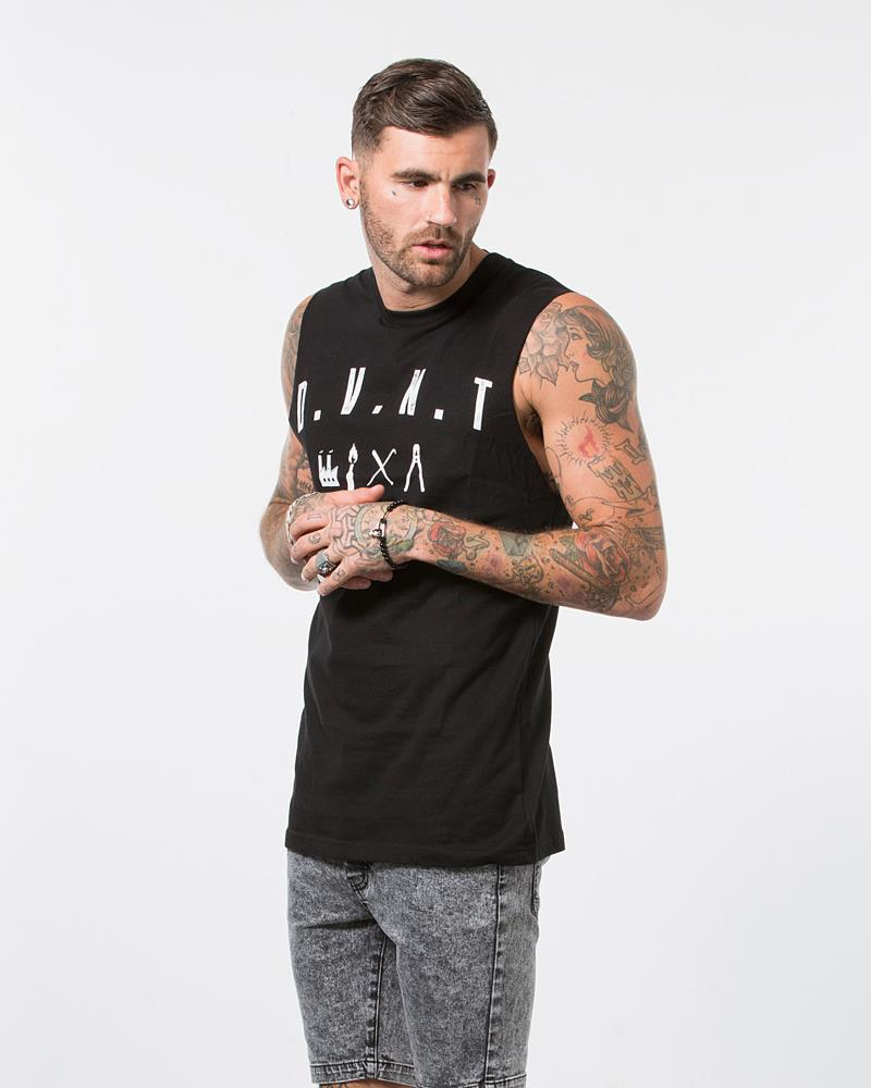 URBAN ELEMENTS TANK - BLACK