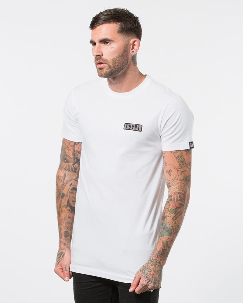 ETHOS PATCH TEE - WHITE