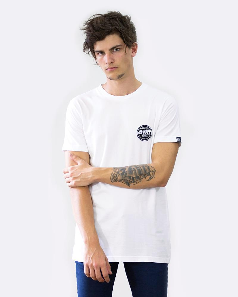 CRAFTED BADGE TEE - WHITE
