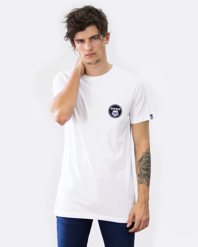Monarchy Badge Tee - White