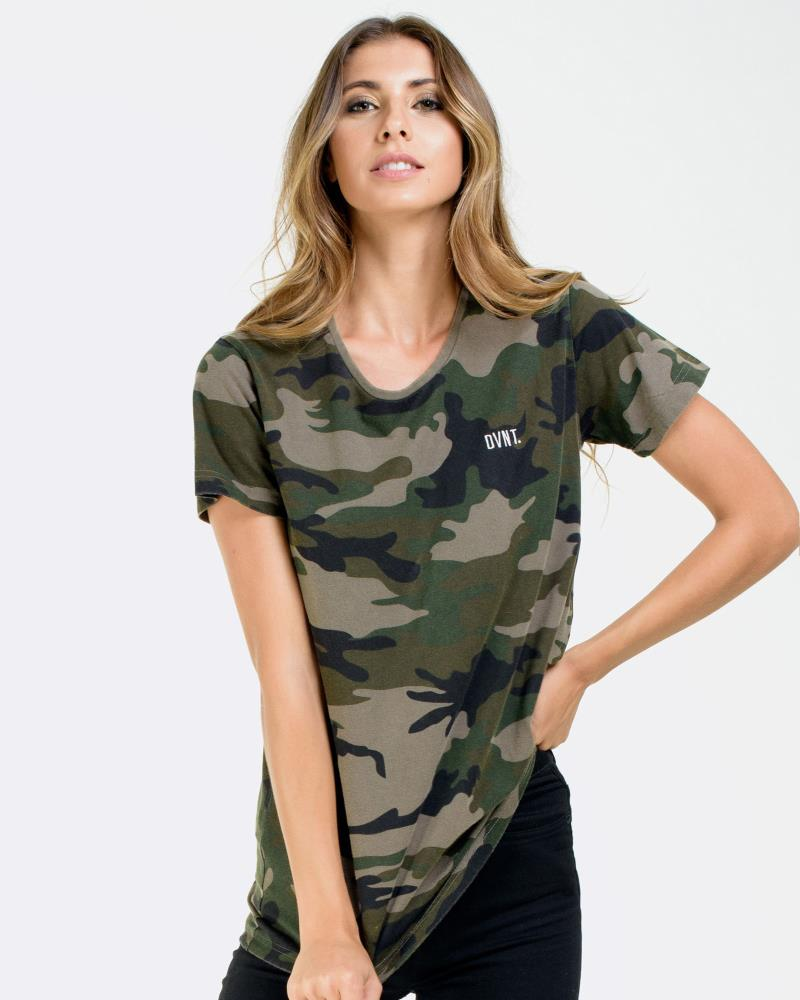 Washed Camo Tee - Camouflage