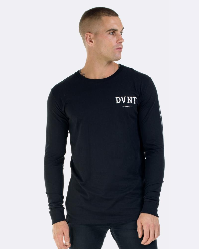 SWITCHBLADE LONG SLEEVE - BLACK