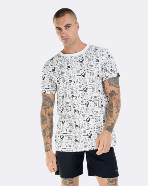 TATTOO FLASH TEE - WHITE