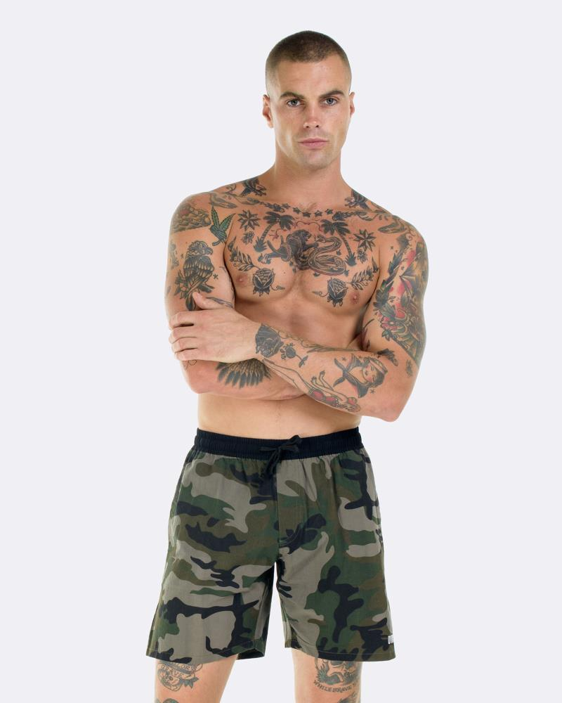 CAMO BOARDWALK SHORTS