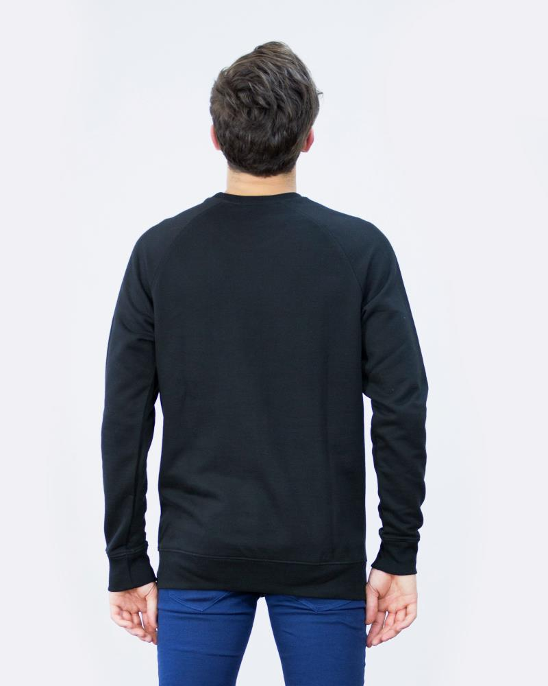 STATIC POCKET CREWNECK