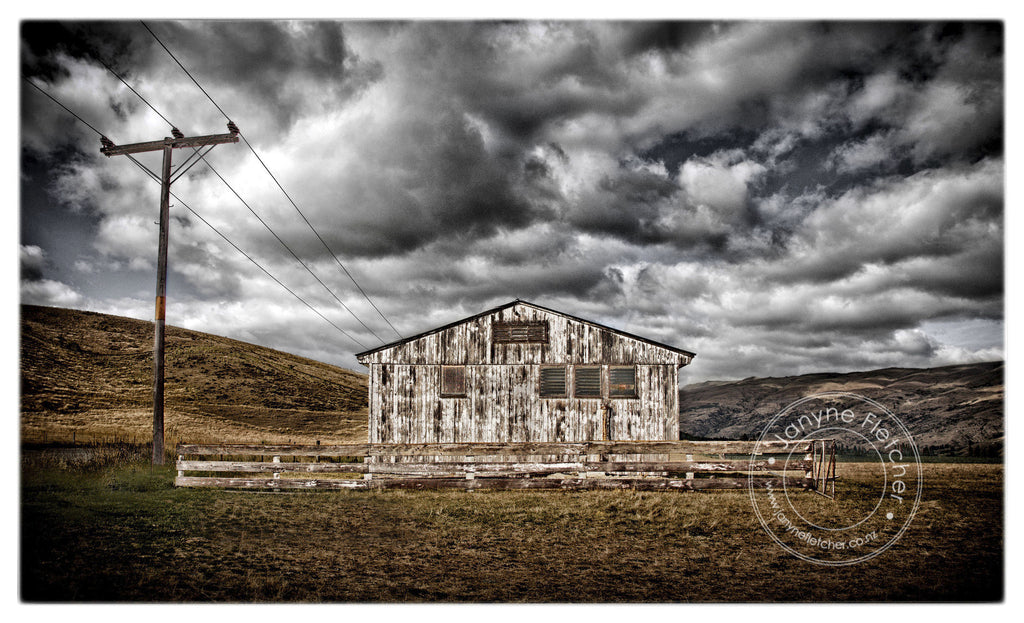 Teviot Valley Goods Shed, Central Otago, New Zealand