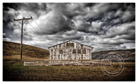 Framed Photographic Print - Teviot Valley Goods Shed