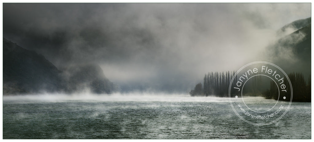Framed Photographic Print - Hore Frost Lake Dunstan