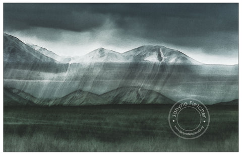 Photographic Print - Danseys Pass, Central Otago