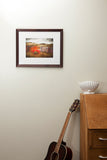 Framed Photographic Print - Fine Dining, Manorburn Dam