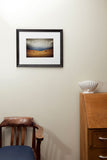 Framed Print - Hay Bales Channel Road
