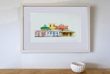 Framed Photographic Print - Naseby Skyline