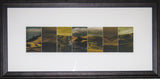 Framed  Print - Maniototo Themed Mountains