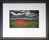 Framed Print - Red Header, Omakau