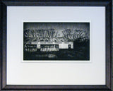 Framed  Print - The Old Rabbit Factory Waipiata