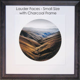 Framed Print - Lauder Faces