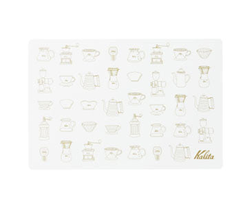 Kalita Brew Gear Place Mat - Grey