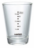 Hario 5oz Glass with Black Print