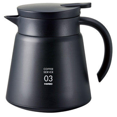 Hario V60-03 Stainless Server Black