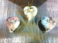 We Heart YOU,  Heart Shaped  Trinket Lidded Boxes