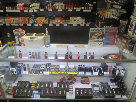 CJ Vapors selection of advanced regulated devices and tanks