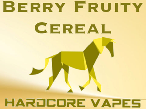 Hardcore Vapes, Berry Fruity Cereal MAX VG Eliquid!