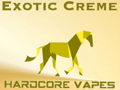 Hardcore Vapes, Exotic Creme MAX VG Eliquid!