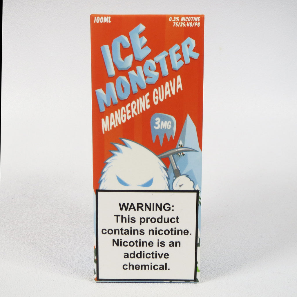Ice Monster, Mangerine Guava, 100 mL Bottle